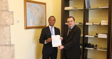 Milton Morrison felicita a EnmanuelMacron por su victoria en elecciones de Francia