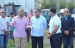 Danilo Díaz inicia visitas provinciales