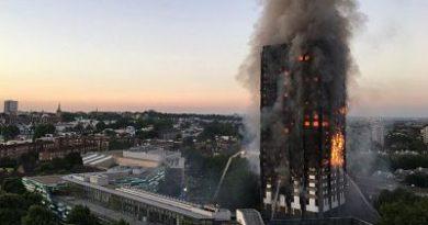 FATAL; Varios muertos en incendio de una torre residencial en Londres