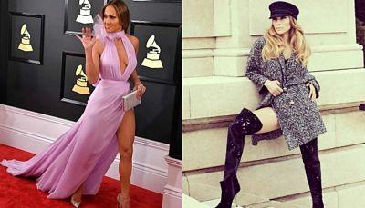 Jennifer Lopez y los vestidos con aberturas más sexys que lució en Instagram