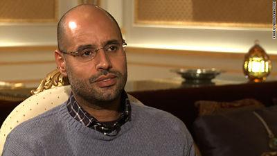 Liberado Saif al Islam, segundo hijo de Gadafi, retenido desde 2011