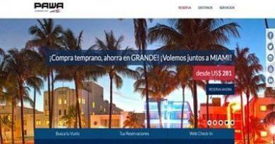 PAWA Dominicana optimiza plataforma web para compra de boletos aéreos