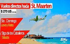 SKY HIGH Aviation Services Dominicana inaugura esta semana vuelos a St Maarten y Tórtola desde Santiago y Santo Domingo