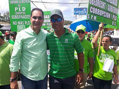 Santiago Hazim ;Ganaremos a los corruptos aunque tengan poder, porque al final el poder es del pueblo.