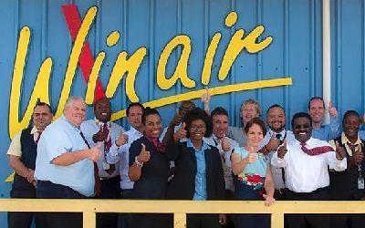 Winair inicia vuelos Curaçao-St. Maarten-Haití-St. Maarten-Curaçao con aeronaves de PAWA Dominicana