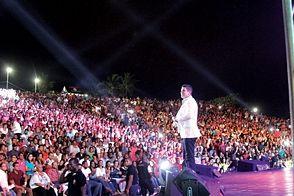 Anfiteatro de Puerto Plata retumba de música dominicana