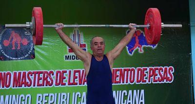 Dominicanos ganan oro Campeonato Panamericano Máster de Pesas