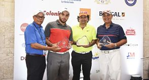 Cuarteta encabezada por Miguel Feris gana el Pro-Am del Puerto Plata DR Open
