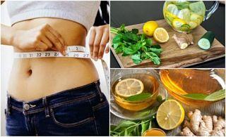 Combate la inflamación y pierde peso con jengibre y limón