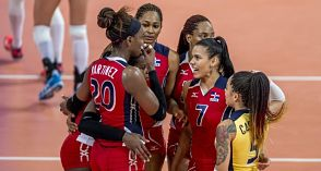 Voleibol femenino: Mejor equipo de conjunto ranqueado de Dominicana