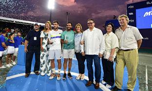 Concluye el torneo de tenis Milex Open 2017