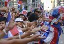 Parada dominicana llena de colorido a Nueva York