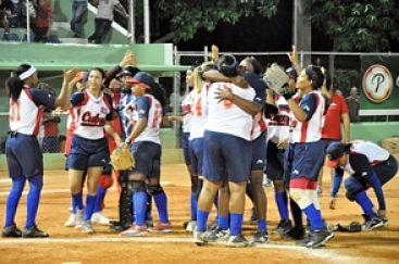 Cuba descalificó a la RD en Panamericano Softbol
