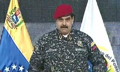 """Maduro, tras rebelión militar en Valencia: """"Les ganamos con las balas"""""""