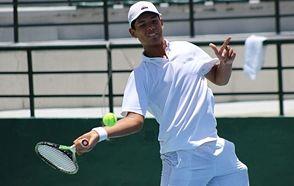 La cara del futuro tenis dominicano