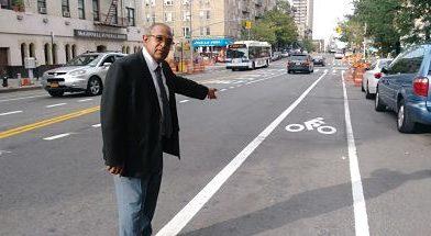 Comerciantes dominicanos rechazan línea para bicicletas en calles del Alto Manhattan
