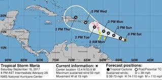 Formación de tormenta María, declaran alerta en islas del Caribe