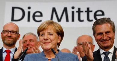 Con primera mayoría, pero su más baja votación: Merkel ganó las elecciones federales con un 33,1% de los votos