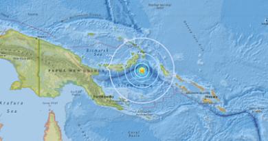 Un fuerte terremoto de magnitud 6,0 se produce cerca de Papúa Nueva Guinea