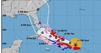 Lluvias de Irma empiezan a sentirse en el este de RD