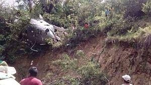 Se estrelló helicóptero con ayuda para víctimas del terremoto