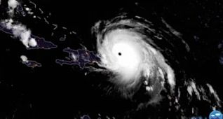 Irma azota la principal zona turística de RD