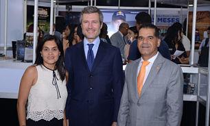Altice ofrece coctel a clientes participantes en Expo Cibao