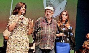 Artistas prestan sus voces para cantar contra el hambre