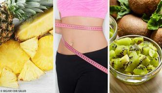Bebidas detox para bajar de peso