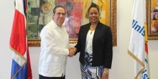 Francisco Javier se reúne con su homóloga de Haití para abordar cooperación en turismo