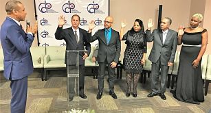Juramentan nueva directiva Colegio Dominicano de Periodistas en Florida