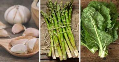 Vegetales que causan alergia