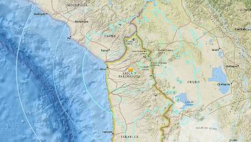 Un sismo de magnitud 6,3 sacude Chile