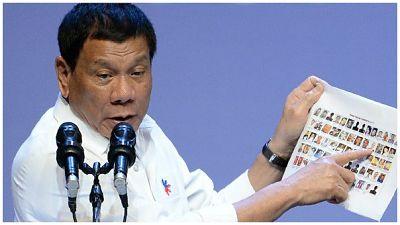 MANO DURA: Presidente filipino Rodrigo Duterte se ha eliminado mas de 7 mil narcotraficantes