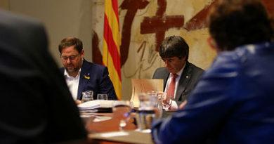 Puigdemont renuncia a presentar alegaciones al artículo 155