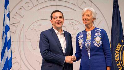La directora del FMI alaba las reformas en Grecia tras reunirse con Tsipras
