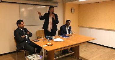 Diputada Annie Baez encabeza reunión en Ginebra Suiza