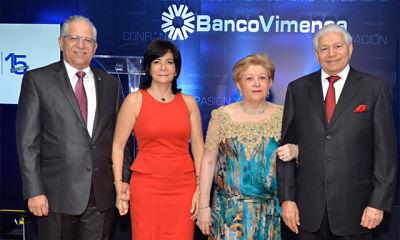 Banco Vimenca festeja sus XV aniversario