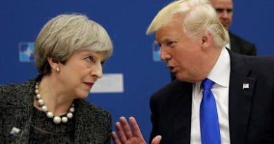 """Trump responde a May que se """"centre"""" en el terrorismo islámico en su país y no en él"""
