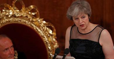 """Premier británica denuncia los """"actos hostiles"""" de Rusia para sembrar """"discordia"""" en Occidente"""