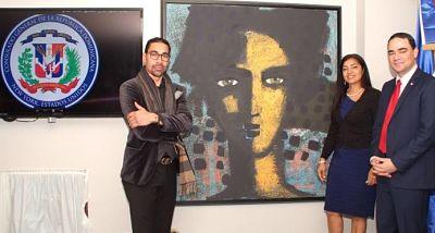 Consulado dominicano en Nueva York concluye primer ciclo de exposición en su Muro de Artes Plásticas