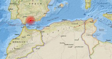 Dos sismos se registran en las provincias españolas de Córdoba y Málaga