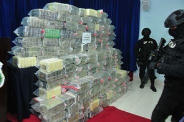 La entrada de drogas al país sigue en incremento