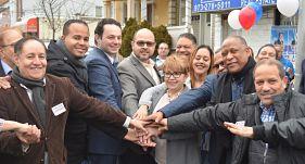 Andre Sayegh inaugura local comando de campaña en Paterson, New Jersey