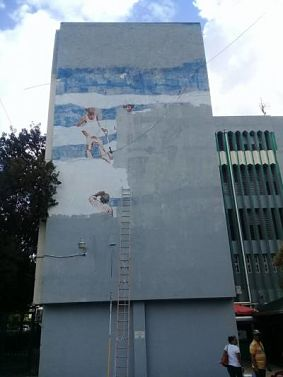 Elsa Núñez lamenta UTESA borre mural realizado por Ángel Haché