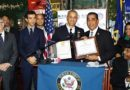 Espaillat y otras autoridades reconocen nuevo subjefe dominicano de la policía