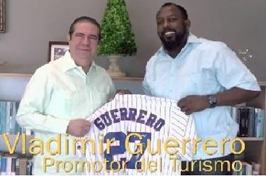 Ministerio de Turismo pondera al ex pelotero de Grandes Ligas Vladimir Guerrero podría ser Imagen del país