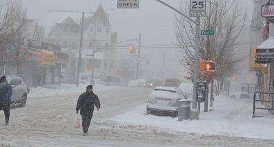New Jersey queda forrado de nieve tras paso de tormenta invernal