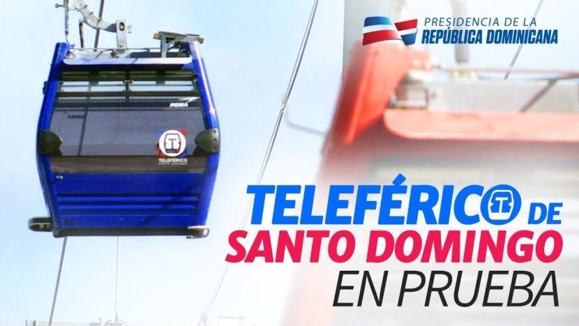 Teleférico de Santo Domingo en prueba