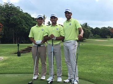 Cuatro dominicanos van al torneo latino de golf